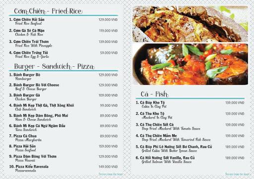 các chương trình khuyến mãi hay cho nhà hàng với menu riêng