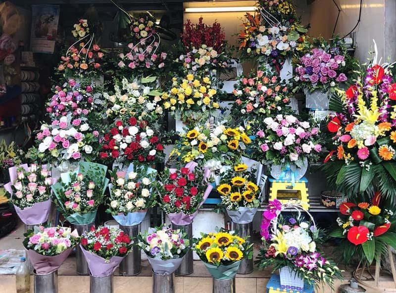 kinh doanh hoa tươi ở nông thôn