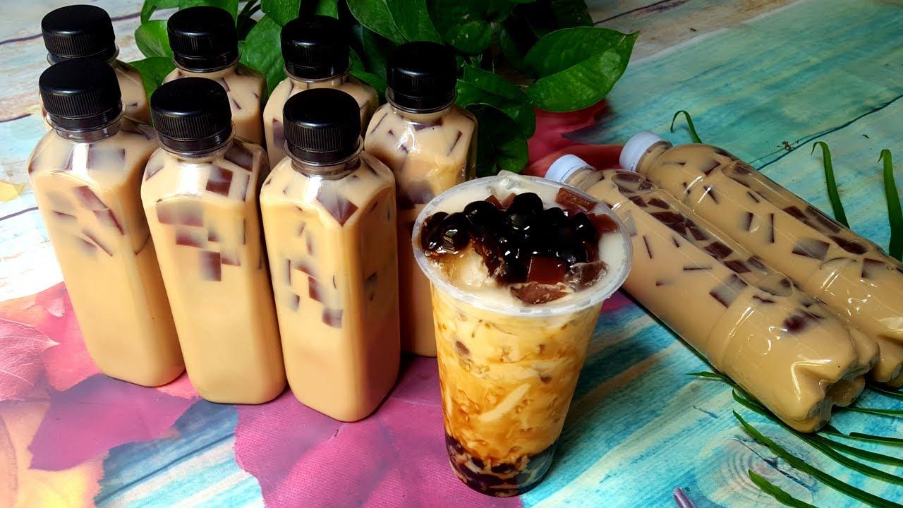công thức pha trà sữa vỉa hè