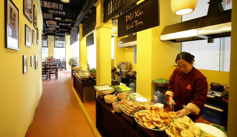 Nhận nhượng quyền quán ăn nhanh với chi phí thấp