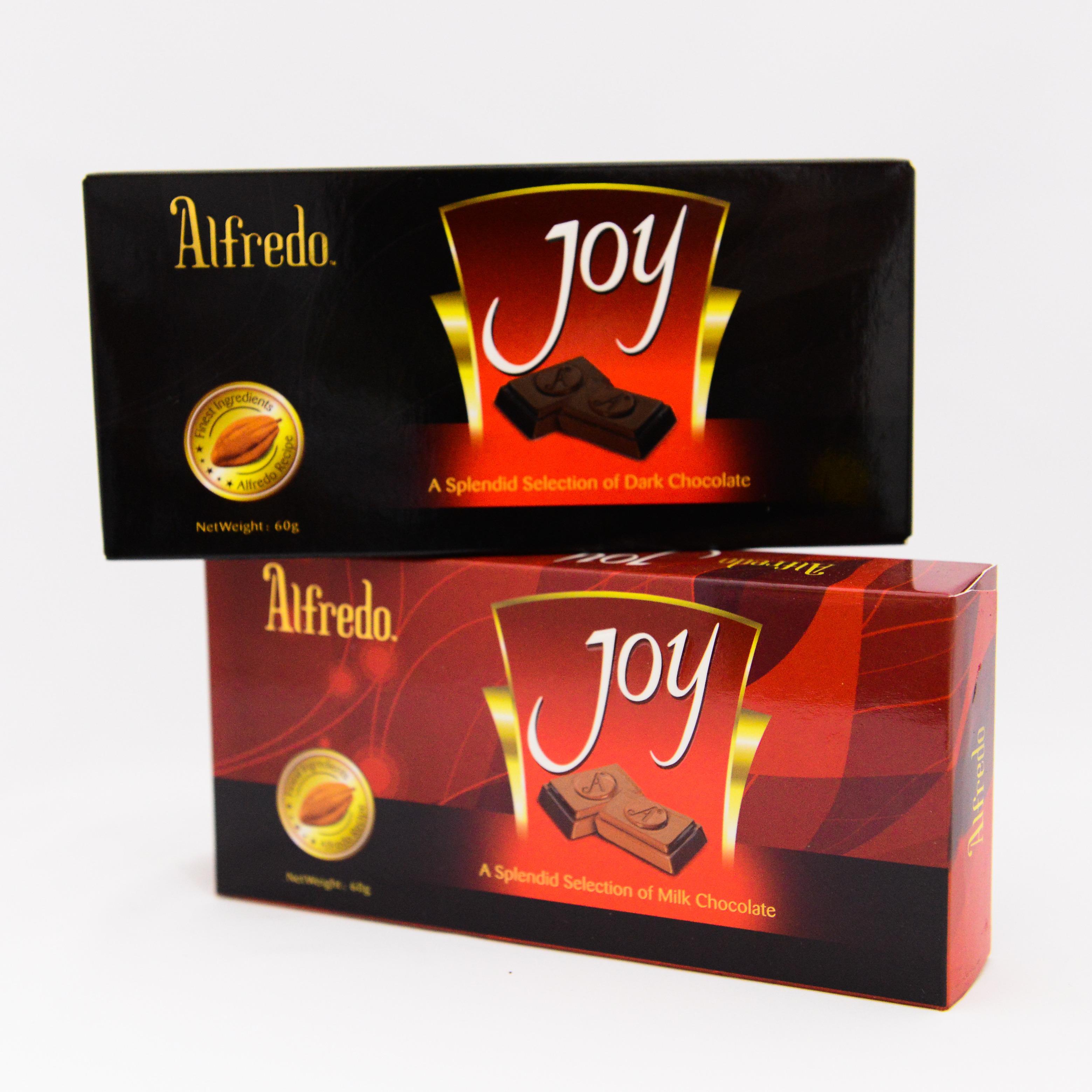 Bánh Alfredo Joy từ Malaysia cùng nhiều mặt hàng bánh kẹo nhập khẩu khác