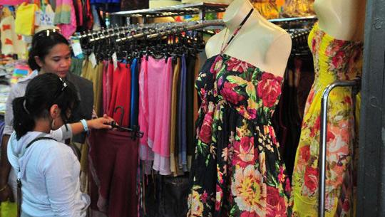 Kinh nghiệm đi đánh hàng quần áo Thái Lan