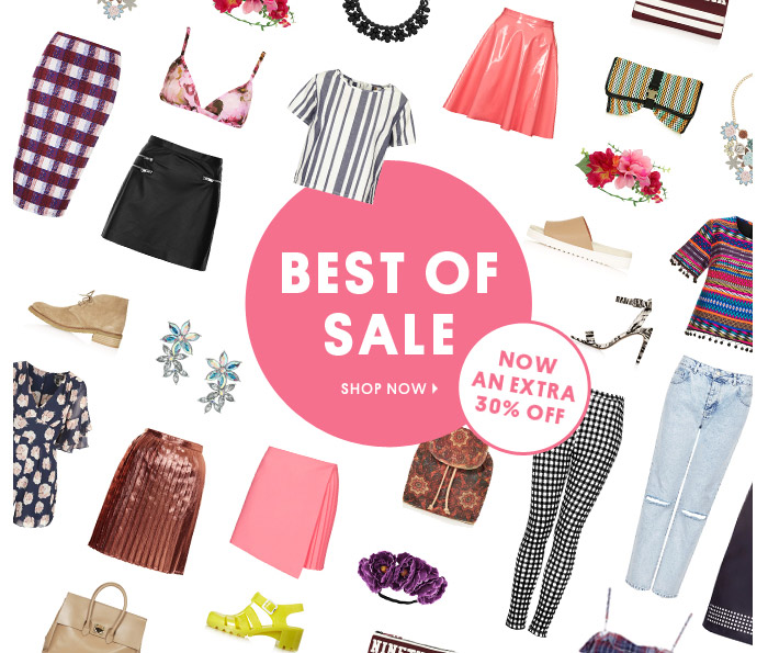 Topshop sale off