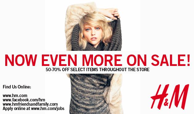 Tháng 1 chính là thời điểm vàng để săn đồ H&M sale off