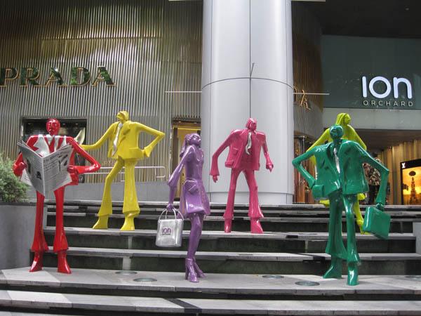 ION Orchard là nơi tập trung cửa hàng tập trung của các thương hiệu cao cấp