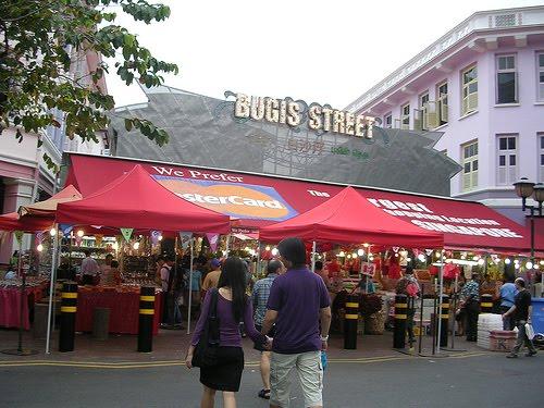 Bugis Street - khu phố mua sắm bình dân không thể bỏ qua