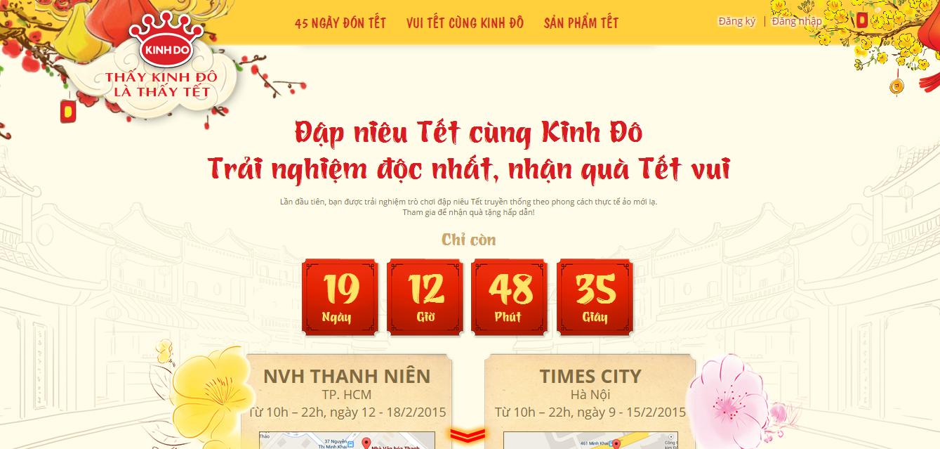 Thiết kế website với đồng hồ đếm ngược khuyến mại