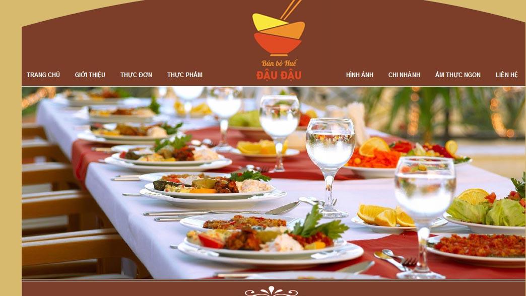 marketing nhà hàng qua website
