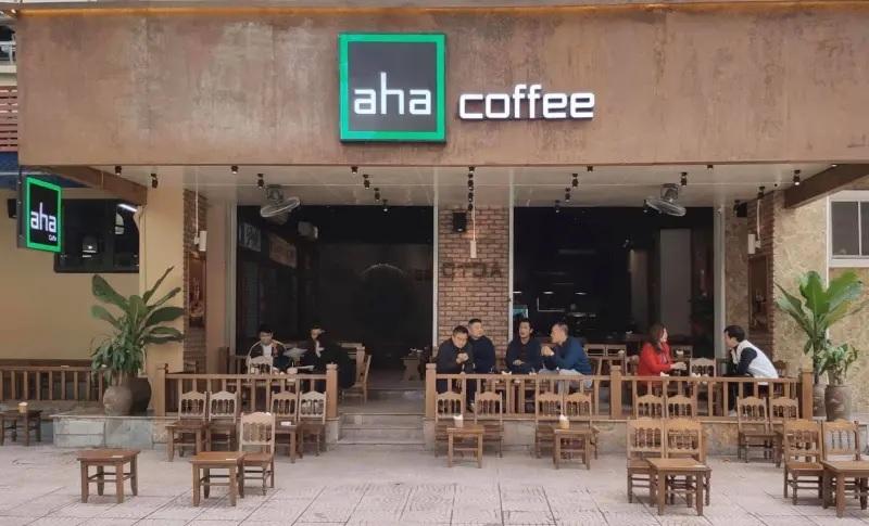 phí nhượng quyền aha cà phê