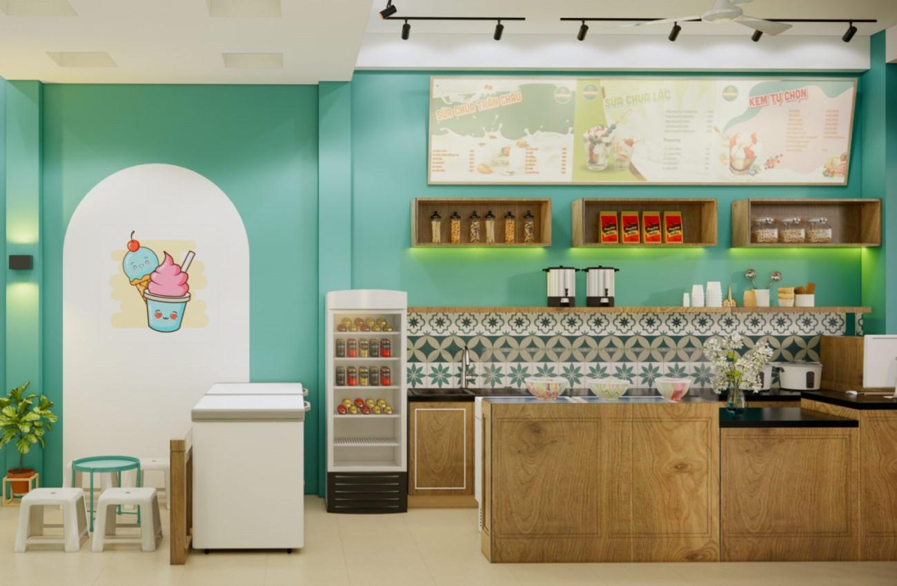 kinh nghiệm mở quán sữa chua trân châu