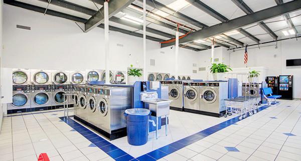 tiệm giặt khô ở nông thôn