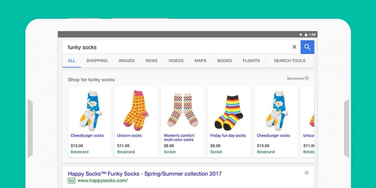 nganh hang nao nen chay quang cao Google Smart Shopping