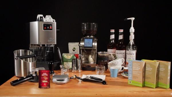 nguyên liệu pha cafe máy