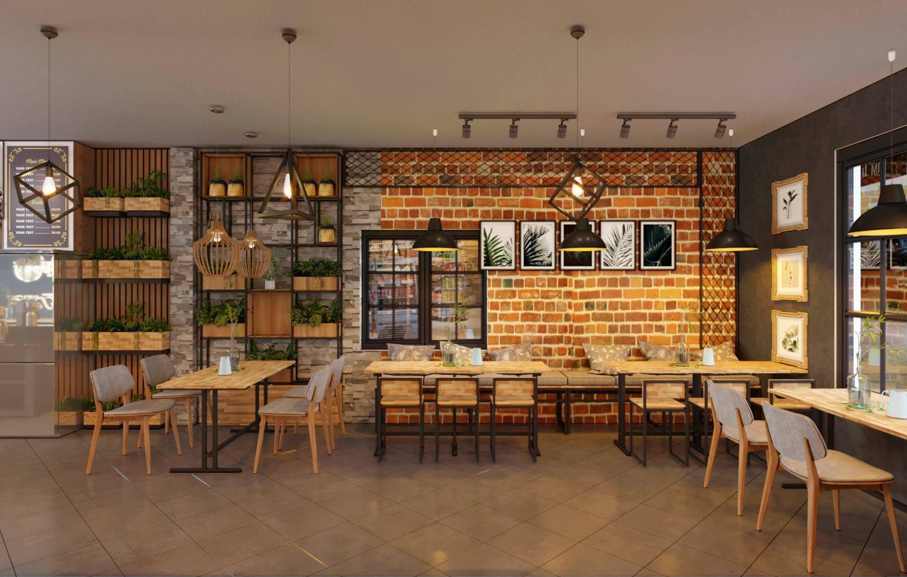 mô hình quán cafe 100 triệu