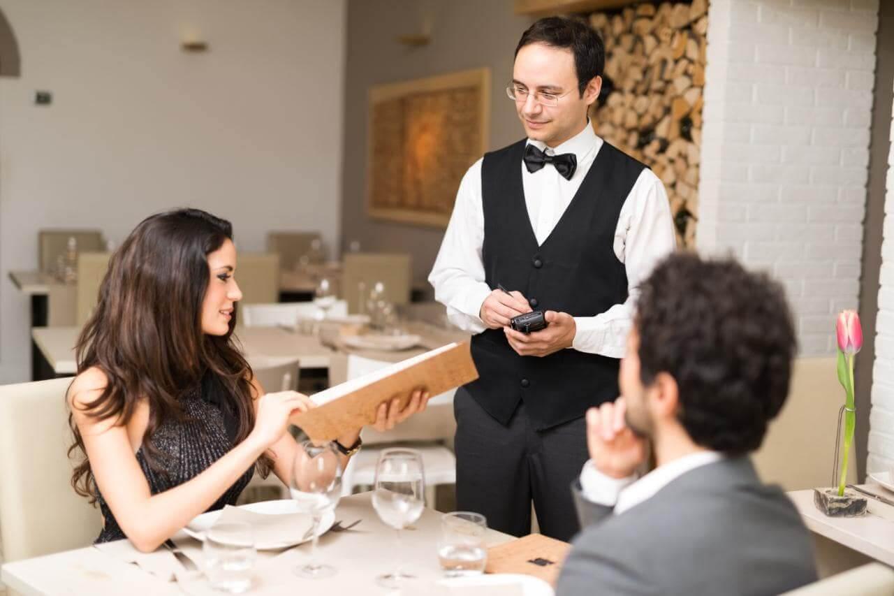 sơ đồ quy trình phục vụ nhà hàng