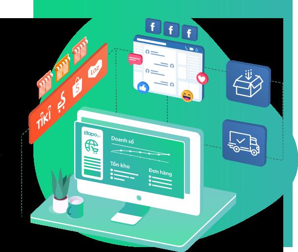 quản lý đơn hàng online bằng Sapo GO
