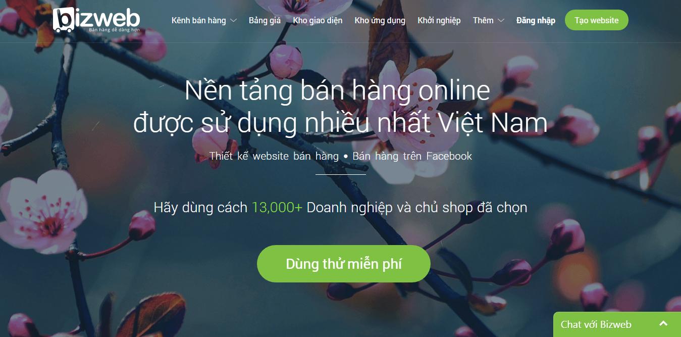 Trải nghiệm sự ưu việt trong dịch vụ thiết kế web Nam Định của Bizweb ngay từ hôm nay