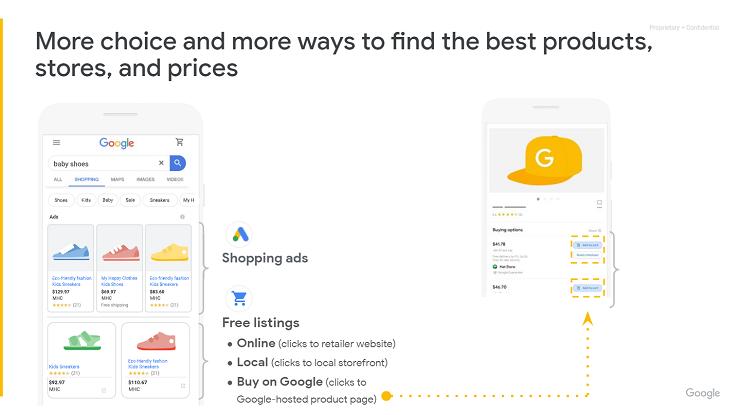 SAPO WEB UPDATE Google Smart Shopping