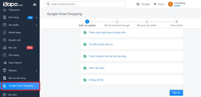 Google Smart Shopping  Sapo Web