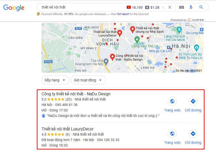 Tạo doanh nghiệp trên Google Maps (Google My Business)