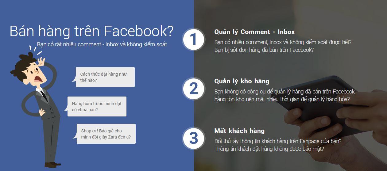 Dùng số hoặc dấu gạch đầu dòng trong nội dung khi tạo landing page