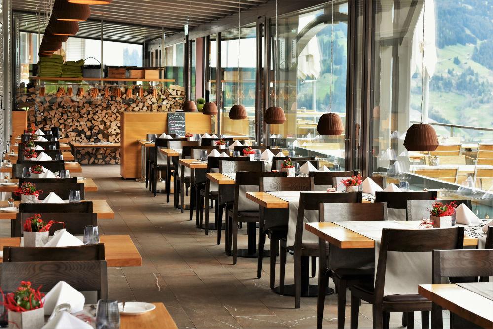thiết kế nhà hàng sang trọng