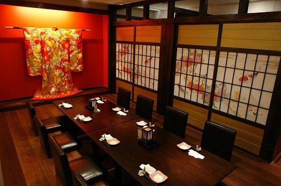 trang trí nhà hàng theo phong cách nhật bản