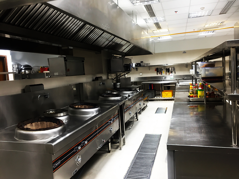 chú ý khu vực bếp khi thiết kế nhà hàng