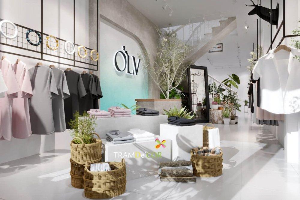 Thiết kế decor shop quần áo