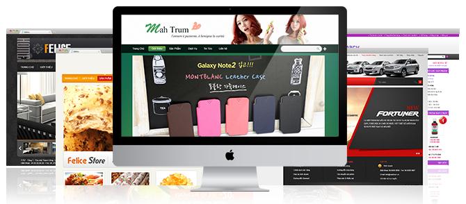Bizweb cung cấp nhiều mẫu giao diện phù hợp với nhu cầu thiết kế web tại Băc Giang