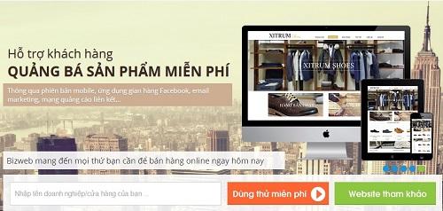 Thiết kế web Hà Nội - Tại sao nên chọn Bizweb?