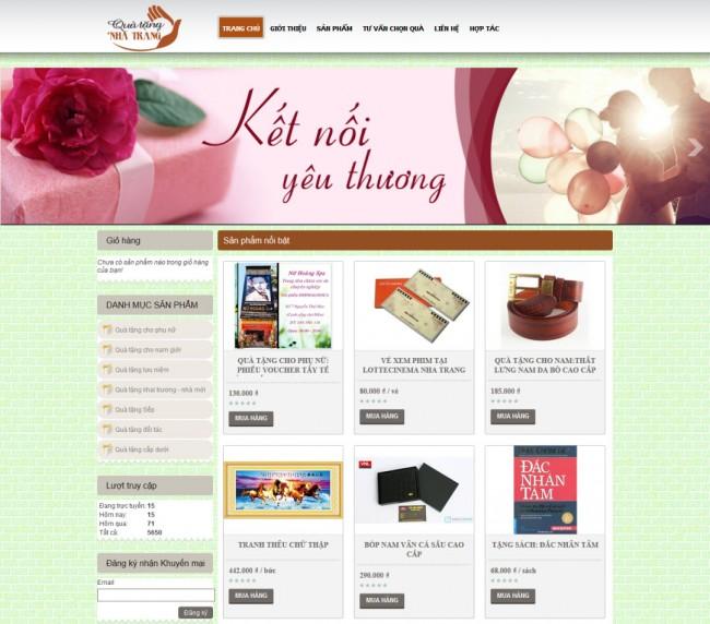 Tăng trưởng doanh thu từ giải pháp thiết kế web Nha Trang của Bizweb