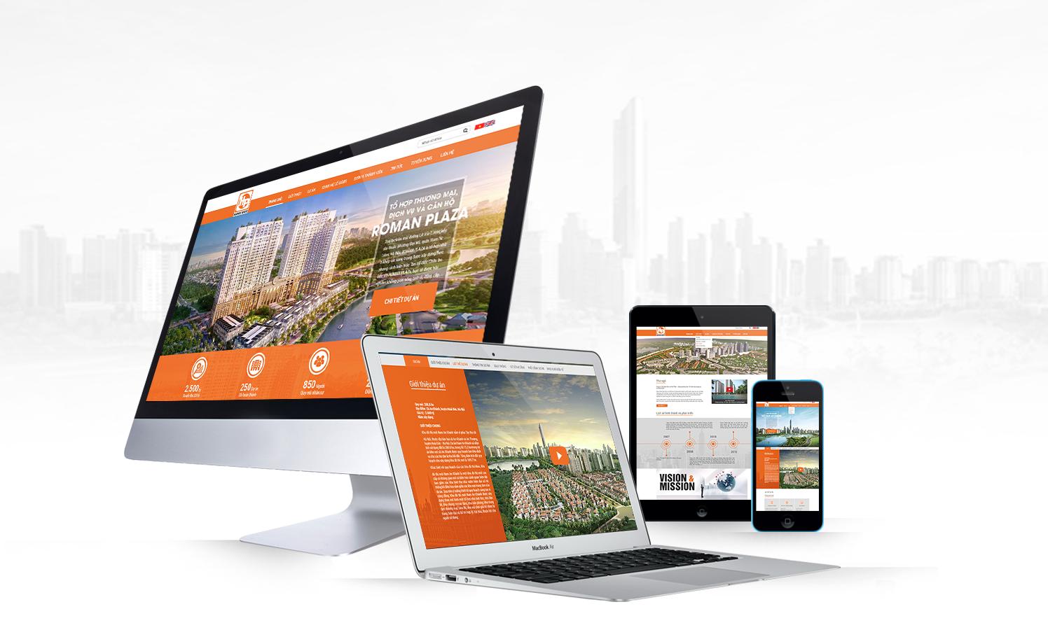 dịch vụ thiết kế website Ninh Bình