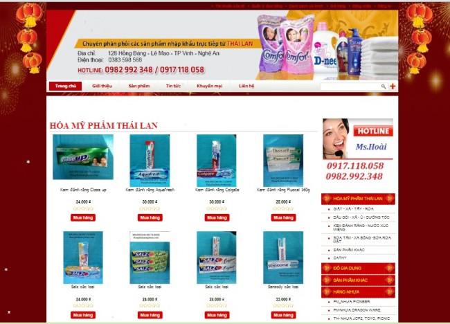Khách hàng tin tưởng giải pháp thiết kế website tại Nghệ An của Bizweb