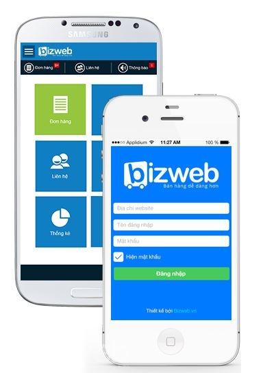 Tiện ích quản trị website trên mobile