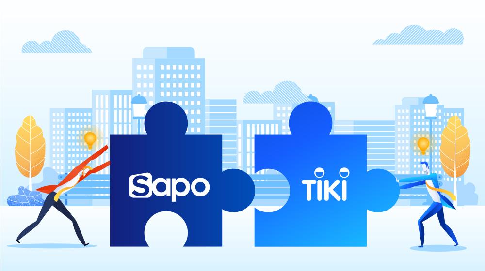Sapo kết nối kênh bán hàng Tiki