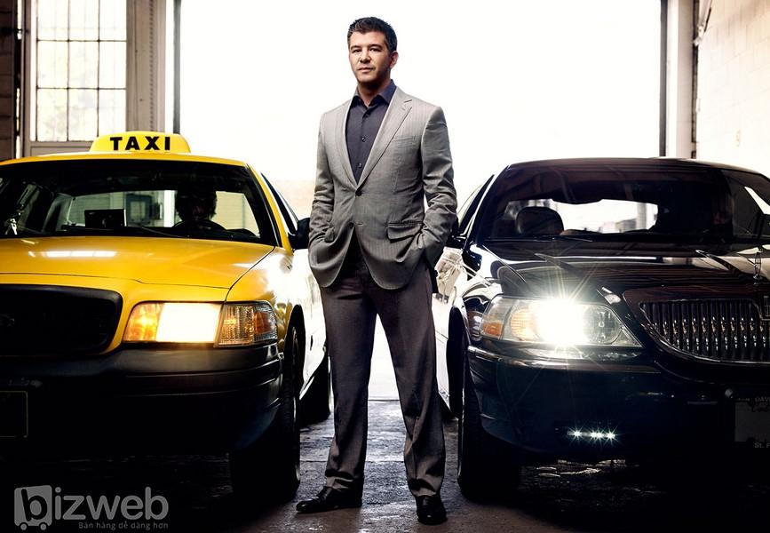 Travis Kalanick - đồng sáng lập kiêm CEO của Uber