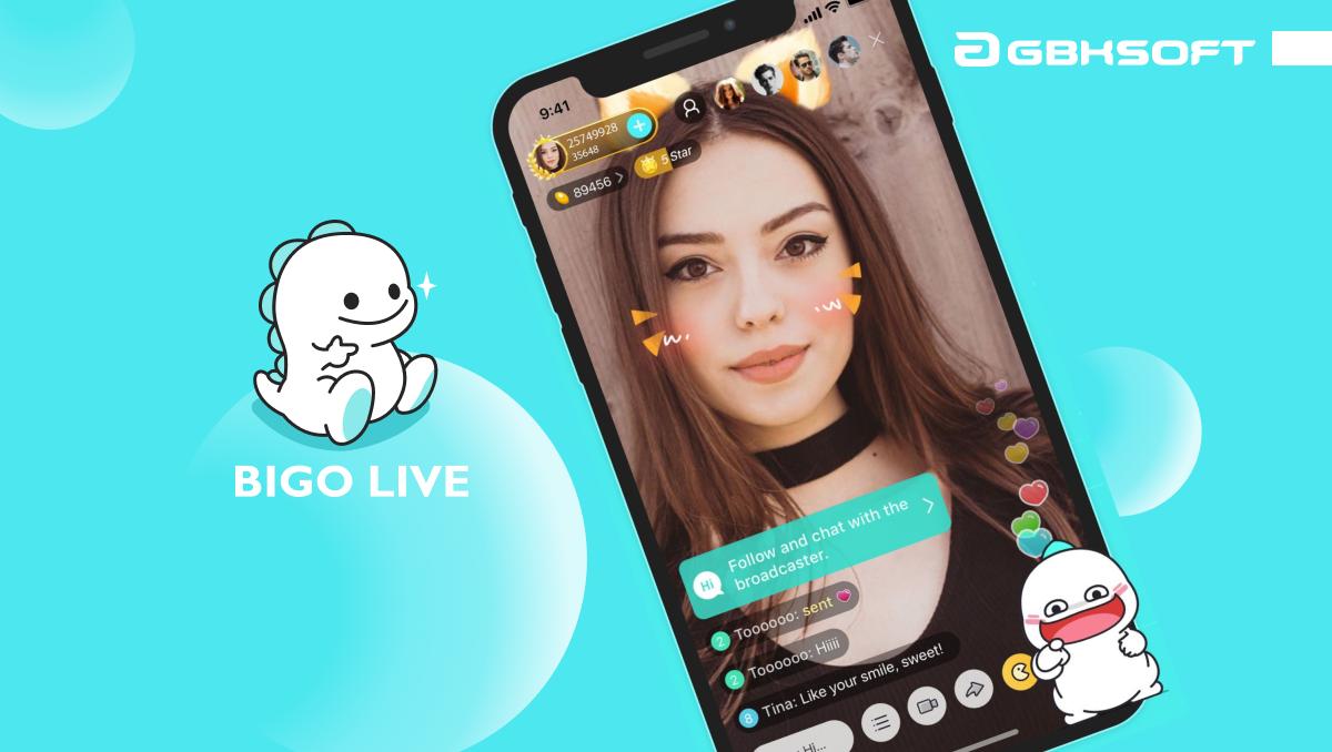 ứng dụng livestream đẹp