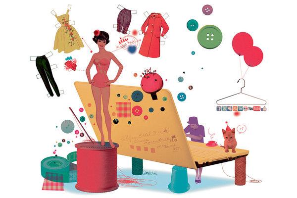 bán online gì chạy nhất - bán quần áo