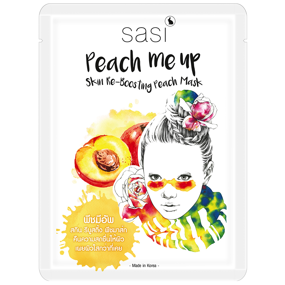 Peach me up Skin Re-Boosting Peach Mask