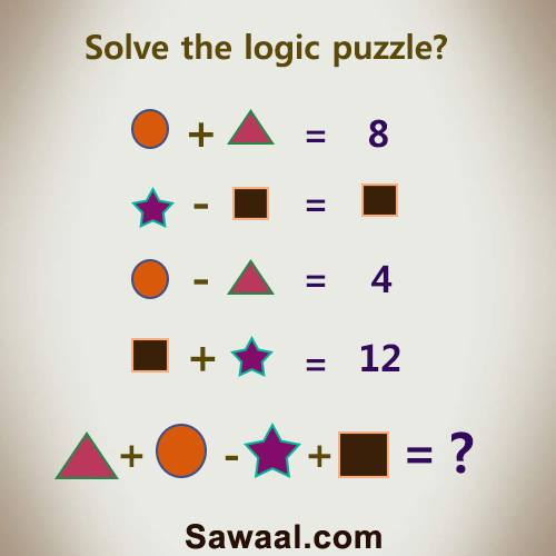 155+ Solved Logic Or Logical Puzzles Questions With AnswersQuestionnaire Logic