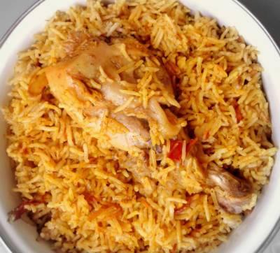 Chicken Mughal Biriyani, Buraq Restaurant, streetbell.com, www.streetbell.com