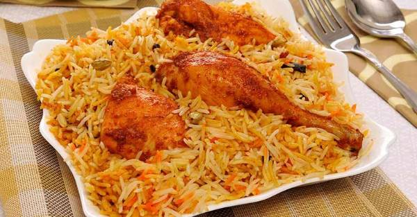Hyderabadi Chicken Biriyani, Buraq Restaurant, streetbell.com, www.streetbell.com