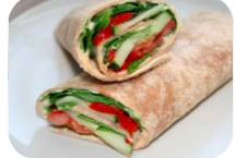 HEALTHY SALAD Wrap (veg), Cherries and Berries, streetbell.com, www.streetbell.com