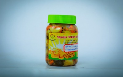 Nandus pickles and snacks