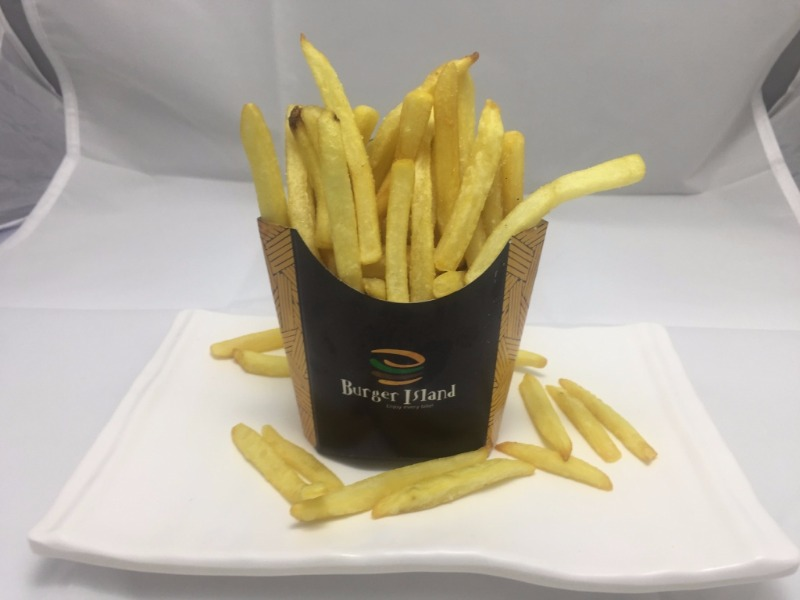 French Fries Medium, The Burger Island, streetbell.com, www.streetbell.com