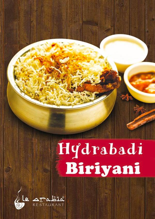 Hyderabadi Chicken Biriyani (TILL 8 PM), Le Arabia Vazhuthacaud, streetbell.com, www.streetbell.com