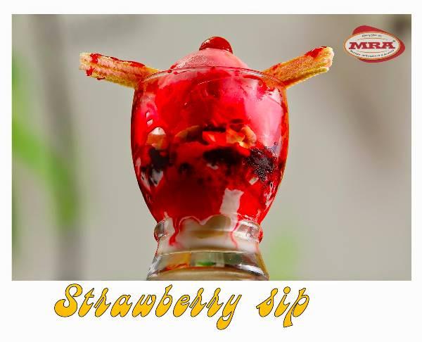 Strawberry Sip, MRA Restaurant, streetbell.com, www.streetbell.com