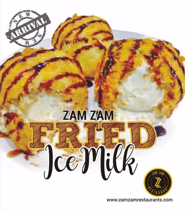 Zam Zam fried ice milk double, Zam Zam YMR, streetbell.com, www.streetbell.com