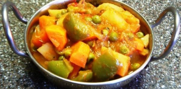 Kadai Vegetable, Taste Of Travancore, streetbell.com, www.streetbell.com